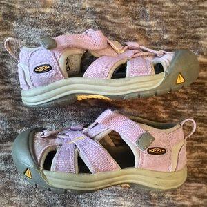 KEEN Toddler Purple Sandals 7